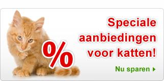 Speciale aanbiedingen katten