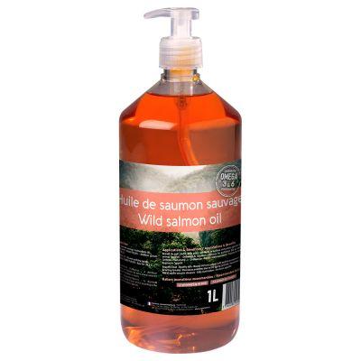 Aceite de salmón para el cuidado del pelo