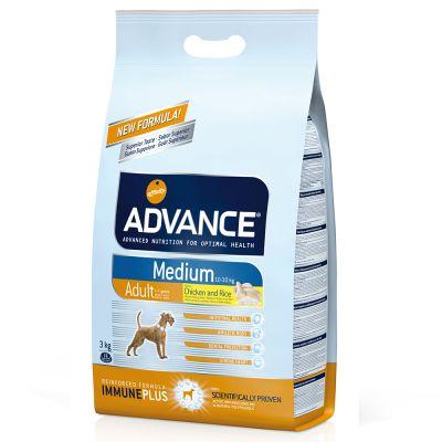 Advance Medium Adult pollo y arroz