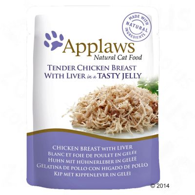 Applaws Pouches Cat Food in Jelly 16 x 70g