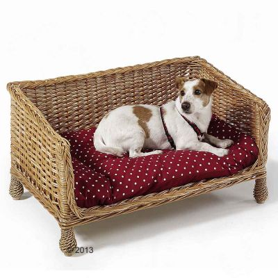 aum ller wicker dog sofa free p p on orders 29 at zooplus. Black Bedroom Furniture Sets. Home Design Ideas