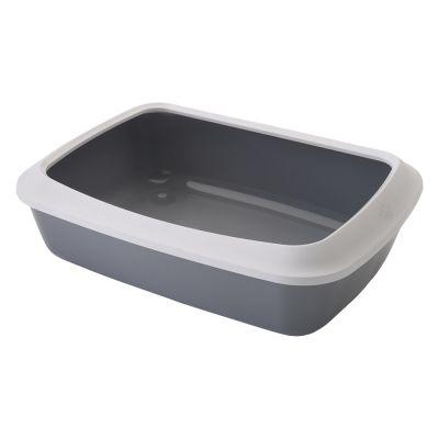 Bac à litière avec rebord Savic Iriz pour chat - 42 cm