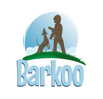 Barkoo huesos prensados de piel de vacuno para perros