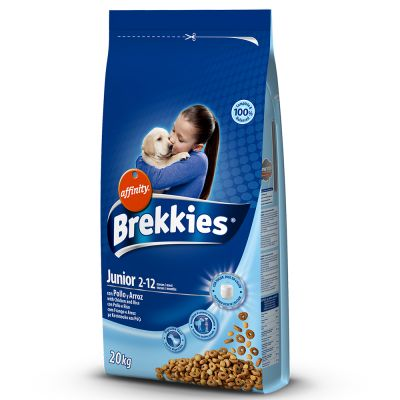 Brekkies Junior pour chien