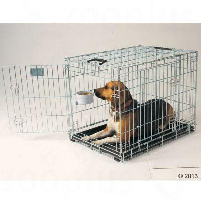 Dog residence cage de transport et d 39 int rieur pour for Repulsif pour chien interieur