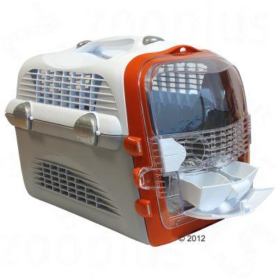 pet cargo cabrio cage de transport pour chat zooplus. Black Bedroom Furniture Sets. Home Design Ideas