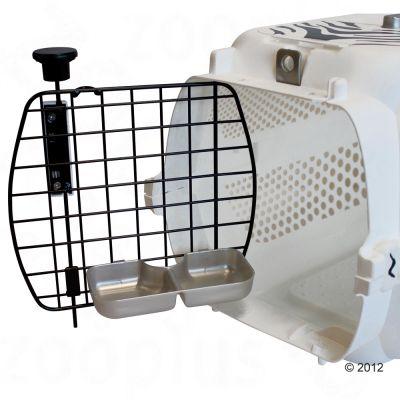 Catit Voyageur White Tiger Crate - White