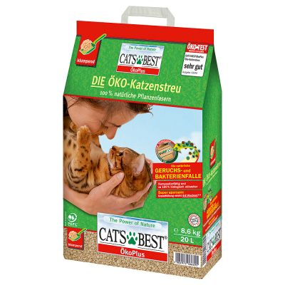 Cat's Best EcoPlus, żwirek zbrylający