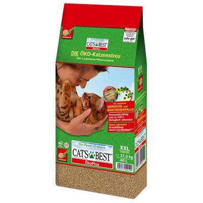 Cat's Best Öko Plus arena vegetal aglomerante