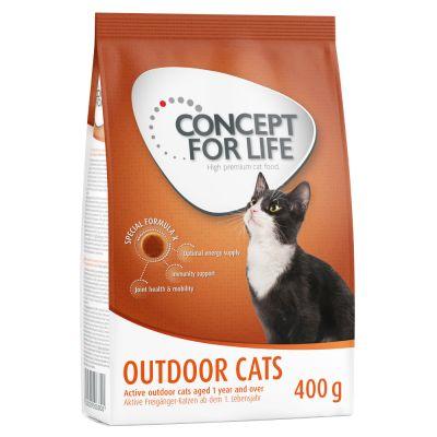 Concept for Life 400 g pienso para gatos ¡a mitad de precio!