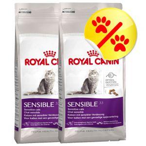 dobbeltpakke royal canin sensible 33. Black Bedroom Furniture Sets. Home Design Ideas