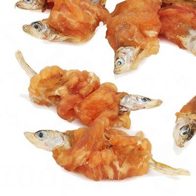 Dokas Friandises à mâcher poulet, poisson pour chien