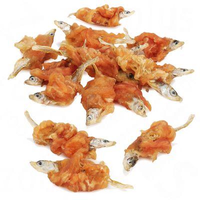 Dokas Friandises à mâcher poulet, poisson pour chien, chat et furet