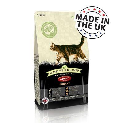 Ekonomipack: 2 x James Wellbeloved kattfoder till lågpris!