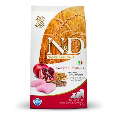 Farmina N&D Low Ancestral Grain Puppy Medium con pollo y granada