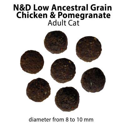 Farmina N&D Low Grain Adult Cat Pollo e Melograno