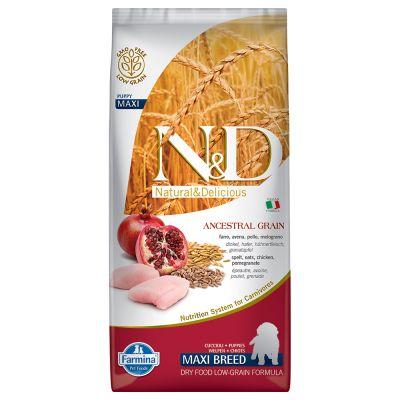 Farmina N&D Low Grain Puppy Maxi Pollo e Melograno