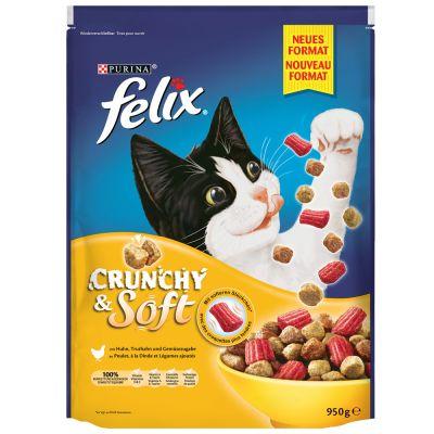 Felix Crunchy & Soft Poultry