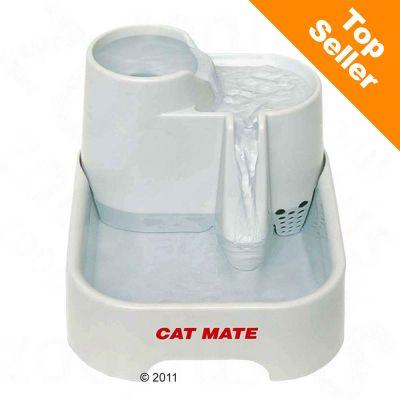 fontaine à eau cat mate - zooplus