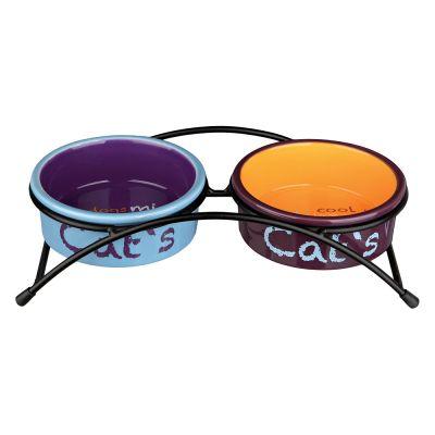 gamelle en c ramique pour chat prix avantageux chez zooplus gamelles en c ramique trixie. Black Bedroom Furniture Sets. Home Design Ideas