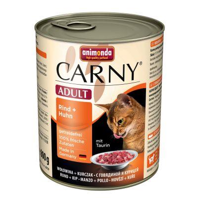 Gemischtes Probierpaket Animonda Carny Adult 6 x 800 g