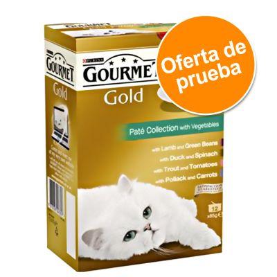 Gourmet Gold Variado en latas 12 x 85 g - Pack de prueba