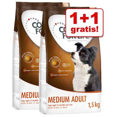 1 + 1 gratis! 2 x 1,5 kg Concept for Life Hundenahrung