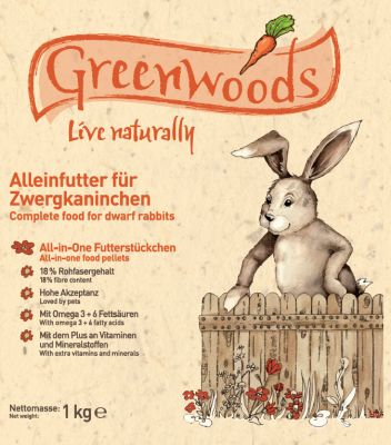 Greenwoods pour lapin nain