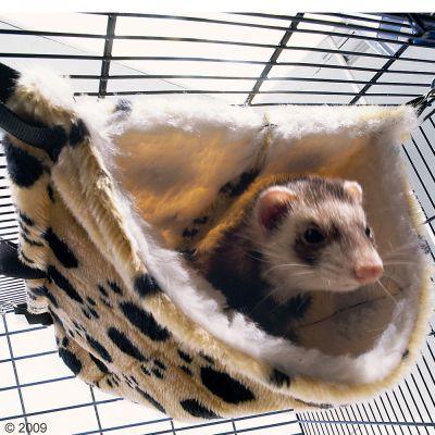 Hamac pour furet et rat Relax de Luxe Fake Fur