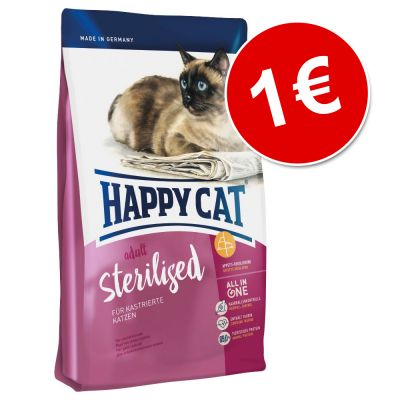 Happy Cat Adult Sterilised 300 g ¡por tan solo 1€!