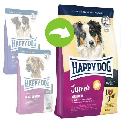happy dog supreme young junior original g nstig kaufen bei zooplus. Black Bedroom Furniture Sets. Home Design Ideas