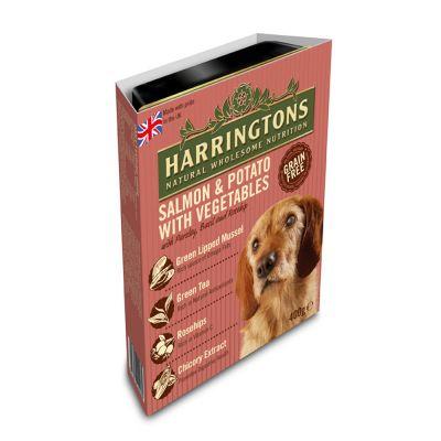 Harringtons Salmon And Potato Wet Dog Food