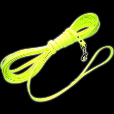Heim Biothane® Long Dog Lead - Fluorescent Yellow