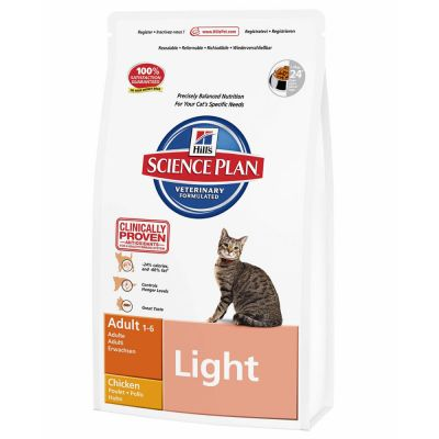 Hill's Feline Adult Light с пилешко месо