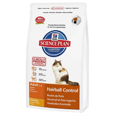 Hill's Feline Hairball Control Adult pour chat