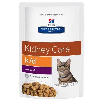Hill's Prescription Diet Feline k/d Renal Pouches | Free P ...