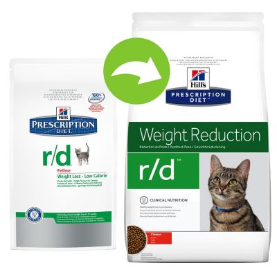 Hill's Prescription Diet Feline r/d Weight Reduction ...
