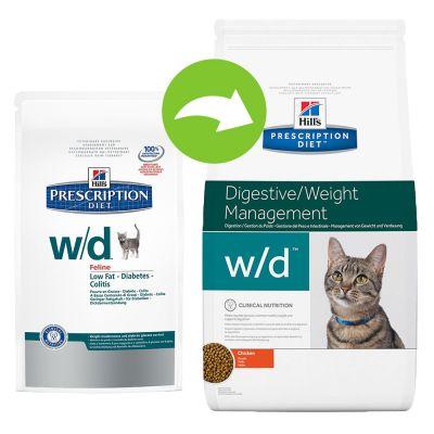 hill 39 s prescription diet w d digestive weight management croquettes pour chat zooplus. Black Bedroom Furniture Sets. Home Design Ideas