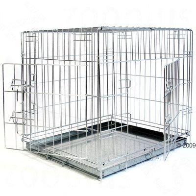 Hondenbench Draadkooi Double Door