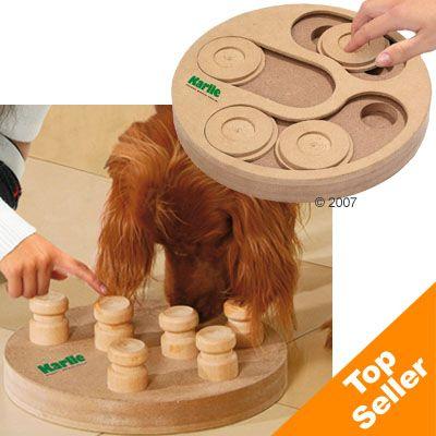 Hundespielzeug Doggy Brain Train 2in1