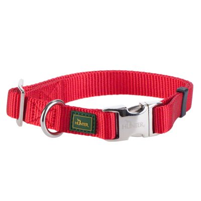 Hunter Halsband Vario Basic Alu-Strong, rot