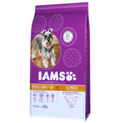 Iams Proactive Health Mature & Senior Dog - Chicken