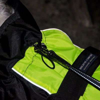 Дъждобран - палто за куче Illume Nite Neon