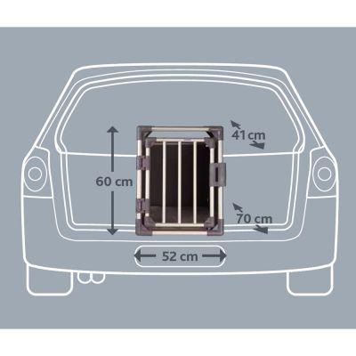 Jaula de transporte Trixie de aluminio