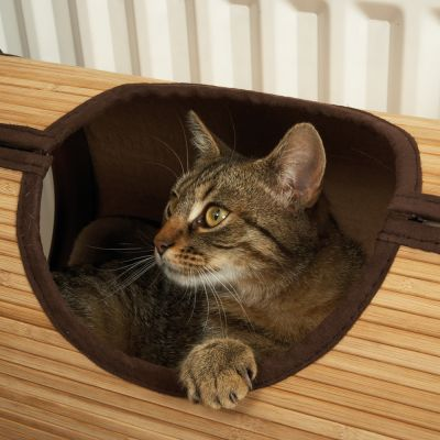 Jolly Moggy Bamboo Radiator Bed For Cats Free P P On
