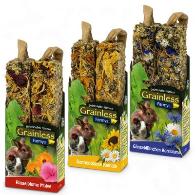 Jr Farm Farmy's Grainless Mixed Pack