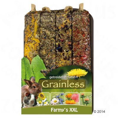 JR Farm Farmy's Grainless XXL tyčinky pro hlodavce