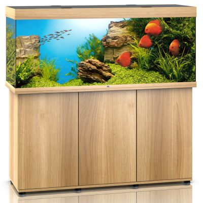 juwel aquariumkombination rio 400 aquarium mit unterschrank wei bunte. Black Bedroom Furniture Sets. Home Design Ideas