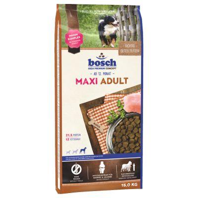 12,5 kg + 2,5 kg gratis! 15 kg Bosch Senior Trockenfutter