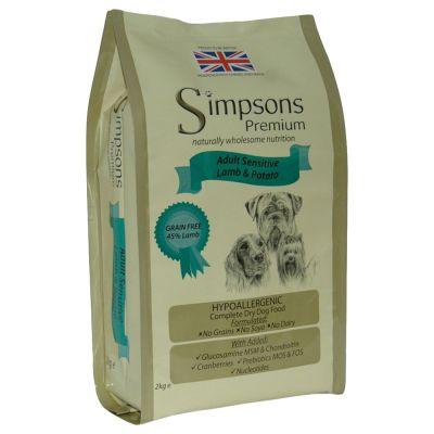12kg Simpsons Premium Dry Dog Food + Large Spiky Ball Dog Toy Free!*